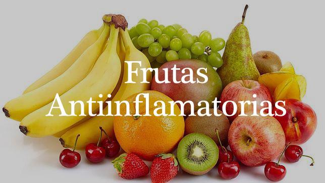 frutas con propiedades antiinflamatorias
