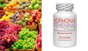 frutas con hormonas femeninas