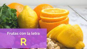 frutas con r