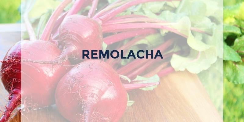 frutas que empiezan con r remolacha