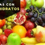 frutas con carbohidratos